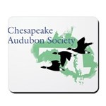 Ches Audubon with letters Mousepad