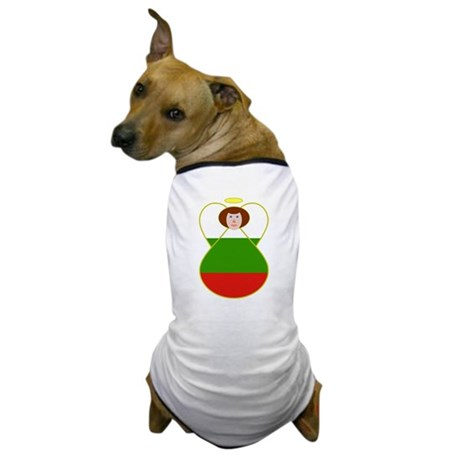 Bulgarian Flag Angel Dog T-Shirt