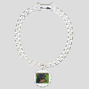 Manchester Terrier 9B085D-07_2 Charm Bracelet, One