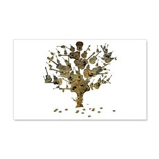 Guitar Tree Wall Decal