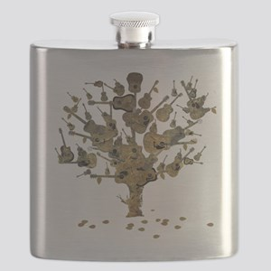 Guitar Tree Flask