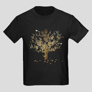 Guitar Tree Kids Dark T-Shirt