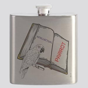 BLO Parrot design Flask