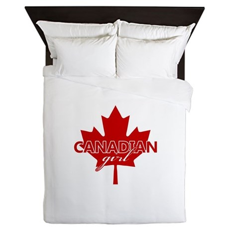 Canadian Girl Queen Duvet
