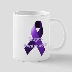 Purple Ribbon Lupus Awareness Mug