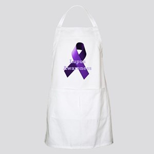 Purple Ribbon Lupus Awareness Apron