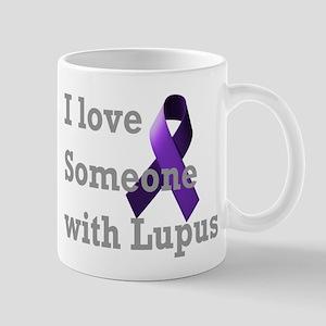 I Love Someone with Lupus Mug