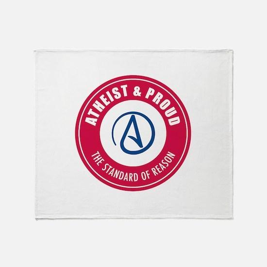 Atheist Proud Throw Blanket