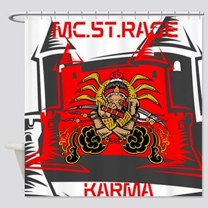 BLO Karma design Shower Curtain