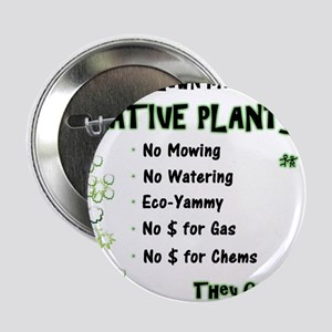 """Native Plants for Frontyard 2.25"""" Button"""