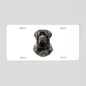 Mastiff 9Y363D-076 Aluminum License Plate
