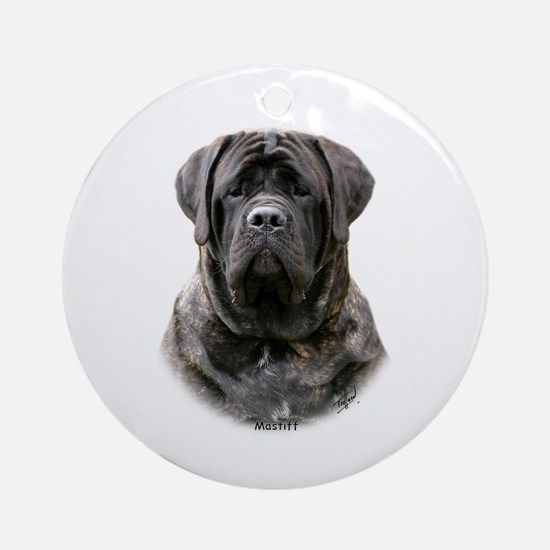 Mastiff 9Y363D-076 Ornament (Round)