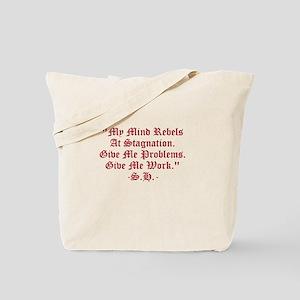 Stagnation Stinks! Tote Bag
