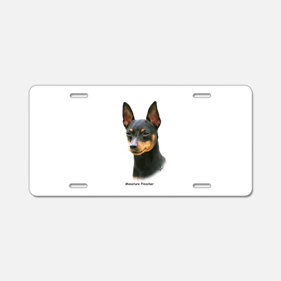 Min Pin 8A083-13 Aluminum License Plate