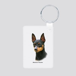 Min Pin 8A083-13 Aluminum Photo Keychain