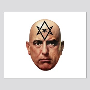 Aliester Crowley Small Poster