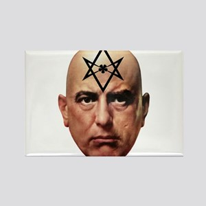 Aliester Crowley Rectangle Magnet
