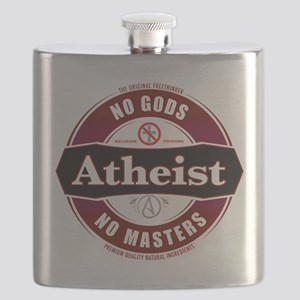 Premium Atheist Logo Flask