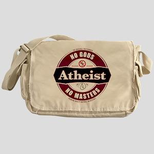 Premium Atheist Logo Messenger Bag