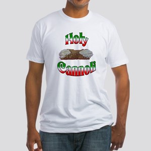 Holy Cannoli Fitted T-Shirt