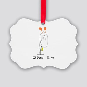 Qi Gong Picture Ornament