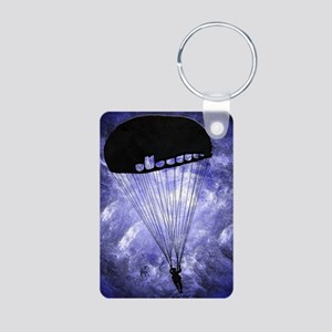 Harvest Moons Paratroopers Aluminum Photo Keychain