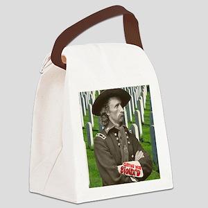 CusterWasSiouxd2500x2500 Canvas Lunch Bag