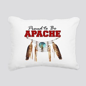 Proud to be Apache Rectangular Canvas Pillow
