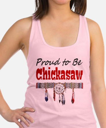 Proud to be Chickasaw Racerback Tank Top