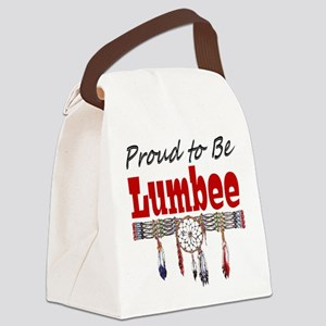 Proud-tobe-Lumbee Canvas Lunch Bag