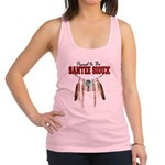 Proud to be Santee Sioux Racerback Tank Top