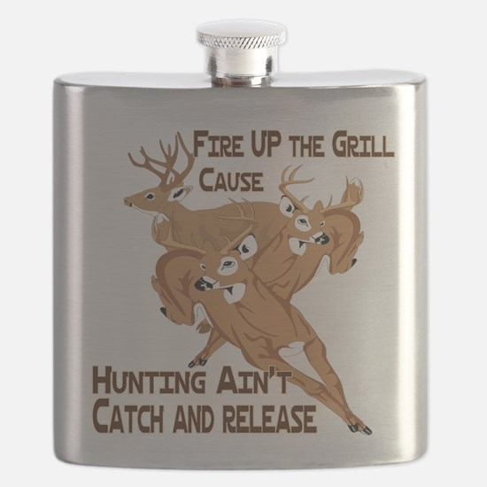 Fire Up the Grill Flask
