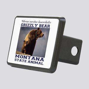 Grizzly - Montana State Animal Rectangular Hitch C
