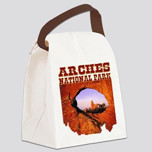 Arches National Park Canvas Lunch Bag