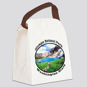 Olympic National Park Canvas Lunch Bag