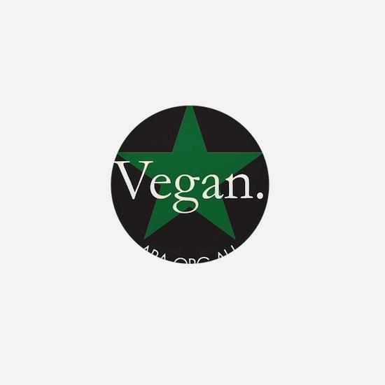 Go Vegan Save Lives Mini Button