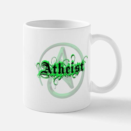 Atheist Green Mug