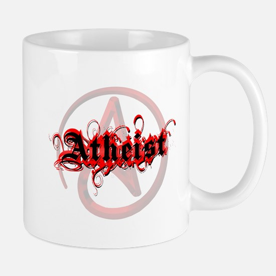 Atheist Red Mug