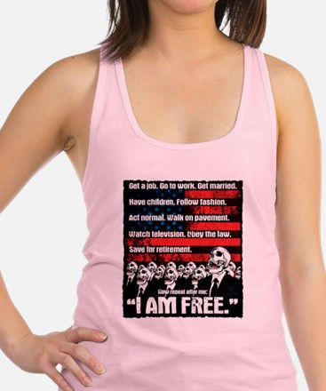 United States of Conformity Racerback Tank Top