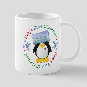 #5 Penguin 1st Christmas Mug