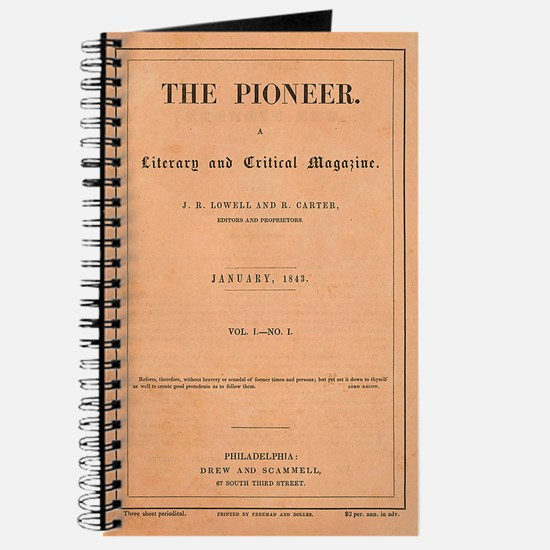 The Pioneer Magazine 1843 Cover Journal