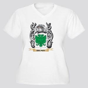 Brumby Family Crest - Brumby Coa Plus Size T-Shirt