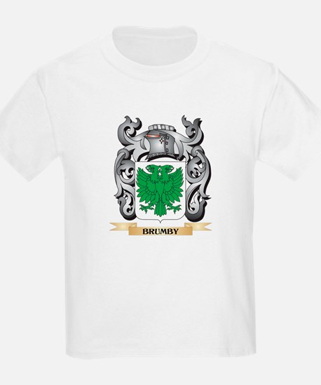Brumby Family Crest - Brumby Coat of Arms T-Shirt
