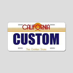 California - Golden State Custom License Plate V2