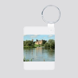 Linlithgow Palace and Loch 1371 Aluminum Photo Key