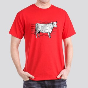 Beef Cuts Dark T-Shirt