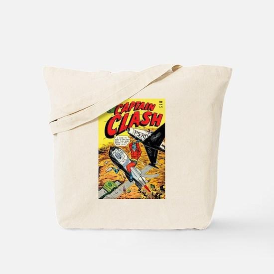 Captain Clash #1 Tote Bag