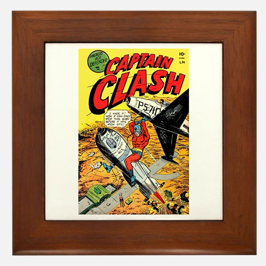 Captain Clash #1 Framed Tile