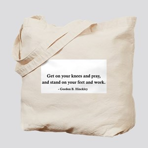 Gordon B. Hinckley's Advice Tote Bag