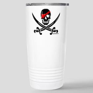 Pirate Love Stainless Steel Travel Mug